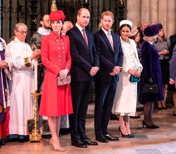 duchess kate middleton, prince william, prince harry, duchess meghan markle
