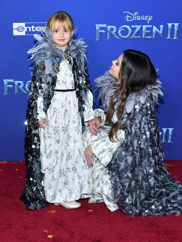 These Photos Of Selena Gomez & Her Sister At The 'Frozen 2' Premiere prove that Selena is the best big sister ever.