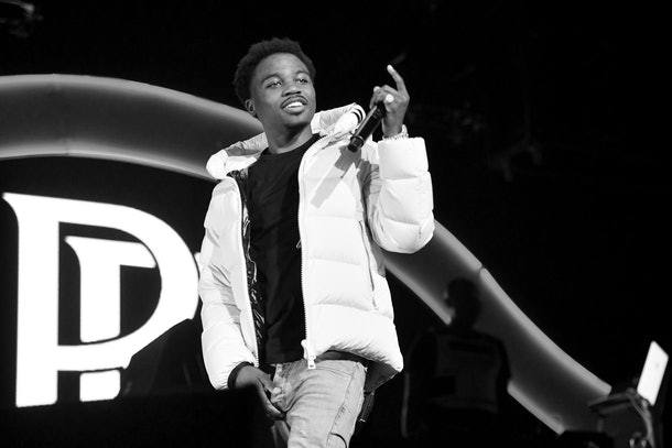 Roddy Ricch performs live.