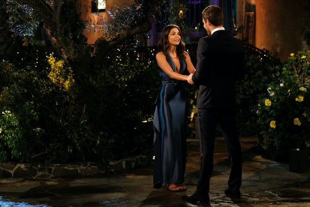 Hannah Ann Sluss earned the first impression rose on Peter Weber's season of 'The Bachelor'