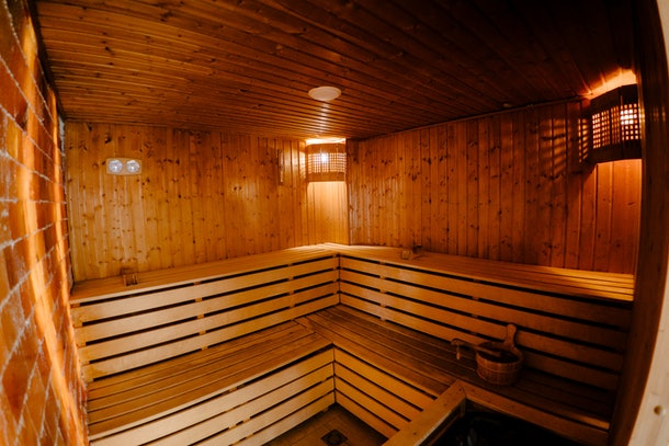 Finnish saunas are typically heated to 212 degrees.