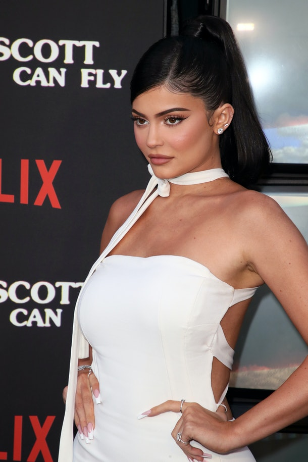 Kylie Jenner attends the premiere of Travis Scott's Netflix documentary.