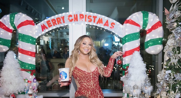 See if your guests can guess Mariah Carey's hit Christmas song by only you humming the tune.