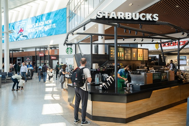 Starbucks' new 2020 airport partnership just might be a game changer.