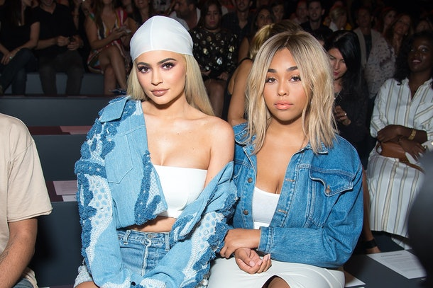 Kylie Jenner and Jordyn Woods attend fashion week together.