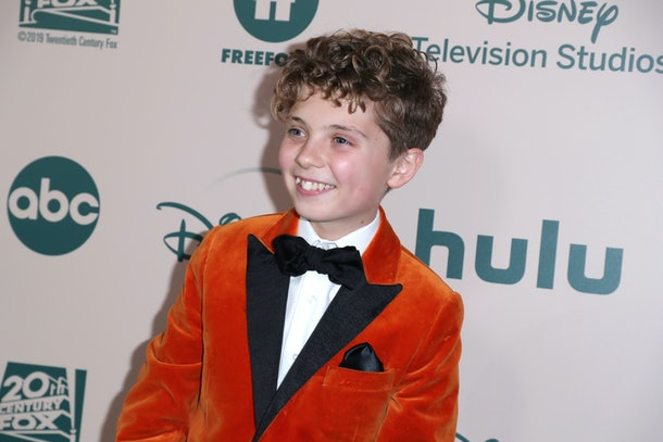Roman Griffin Davis at an awards show