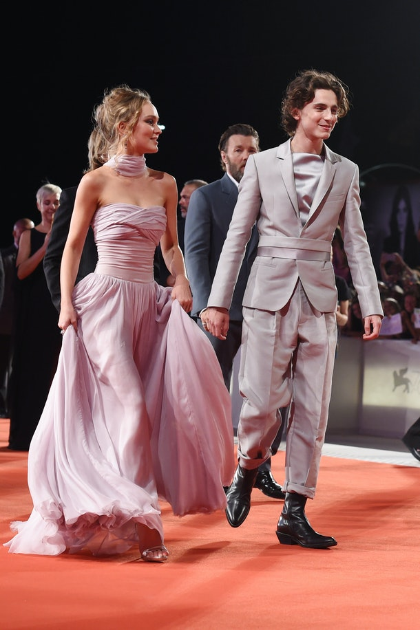 Timothée Chalamet is seemingly in a relationship with Lily-Rose Depp