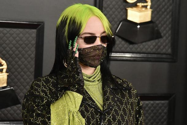 Billie Eilish attends the 2020 Grammy Awards.
