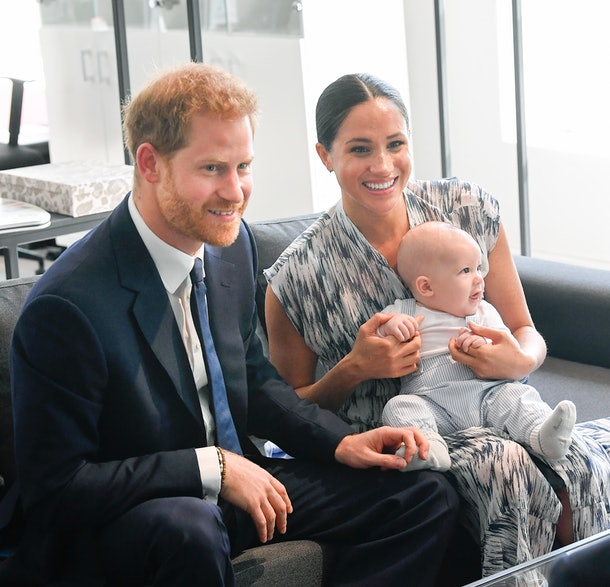 Prince Harry Meghan Markle baby Archie