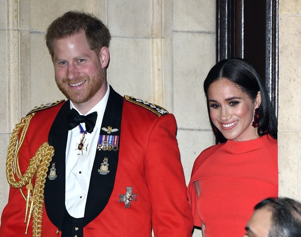 Meghan & Harry Reportedly Held A Goodbye Party For Their Royal Staff