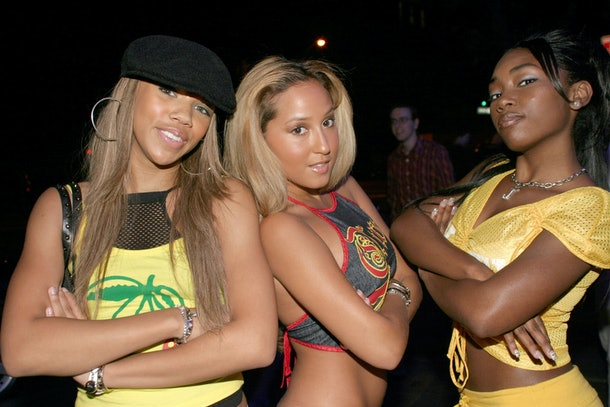 The members of 3LW strike a pose.