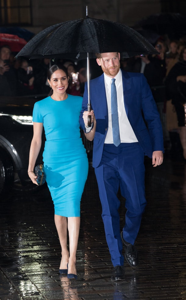 A Picture of Meghan Markle's First Royal Event Since Stepping Back As A Senior Royal