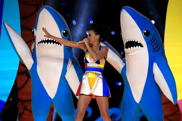 Zoom's video backgrounds library includes clips from Katy Perry's Halftime Show.