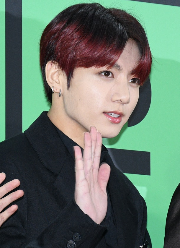 Jungkook, BTS' maknae, at the 2019 Melon Music Awards
