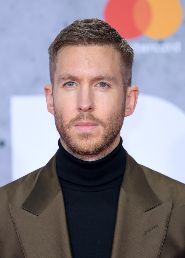 Calvin Harris attends the Brit Awards.