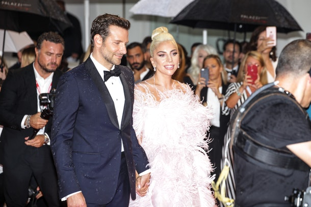 Lady Gaga and Bradley Cooper at the 'A Star is Born' Premiere in 2018