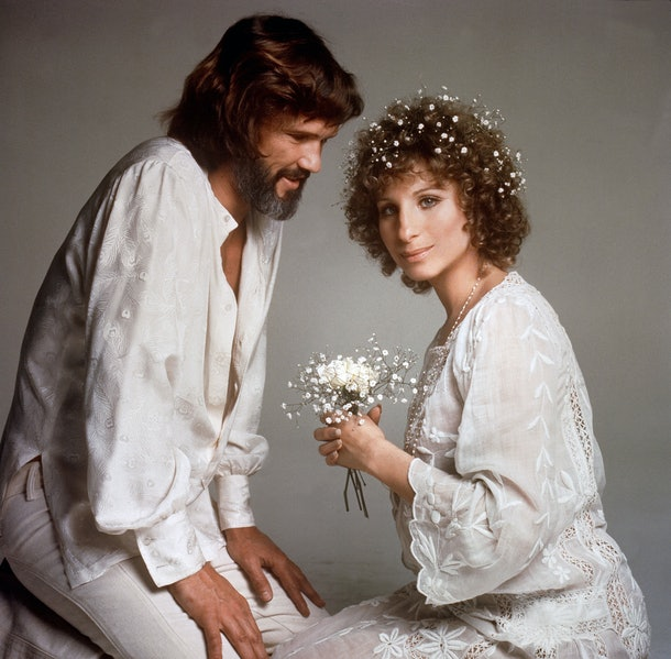 Barbara Streisand  and Kris Kristofferson in 'A Star Is Born'