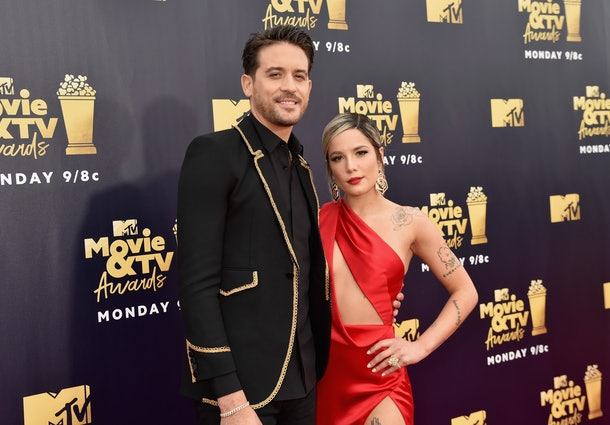 G-Eazy's relationship history includes Halsey.
