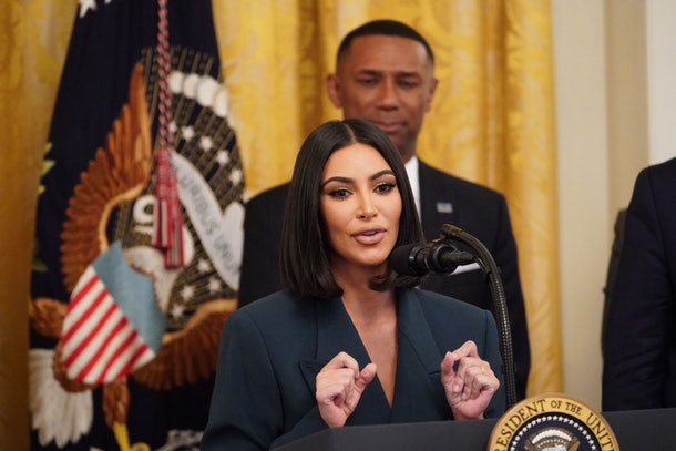 Kim Kardashian speaks out on prison reform.