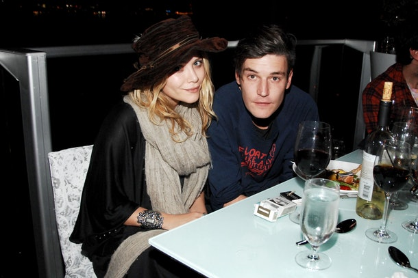Mary-Kate Olsen's dating history includes Nate Lowman.