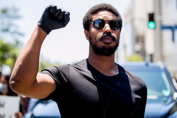 Michael B. Jordan's Anti-Racism Protest Speech