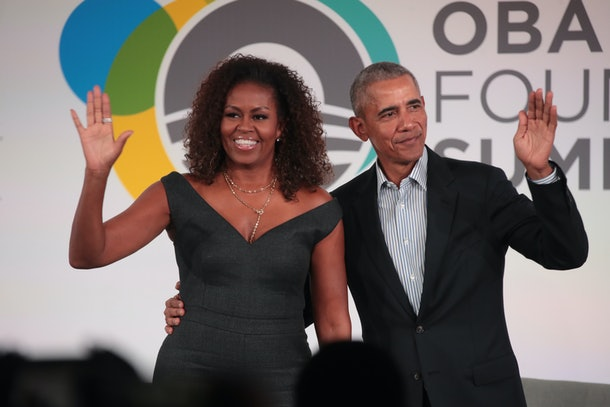 Barack Obama will be Michelle's first guest on her new podcast.