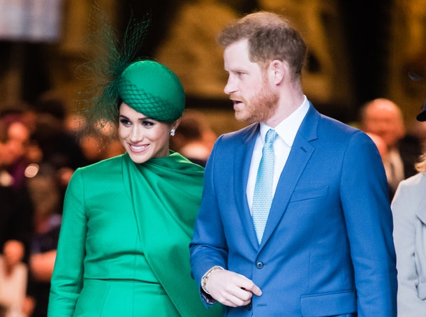 Meghan Markle and Prince Harry attend Commonwealth Day.