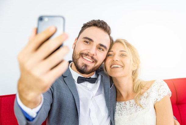 Consider these tips for making a Zoom wedding feel special.
