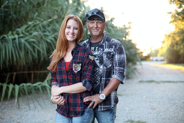 Jeff Lowe and Lauren Dropla from 'Tiger King'