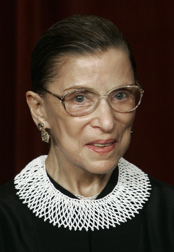 Ruth Bader Ginsburg's final statement on who will replace her is loud and clear.
