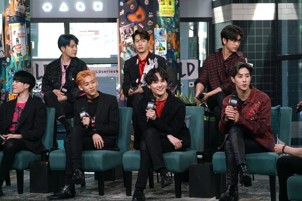 GOT7 gets interviewed for the 'BUILD Series.'