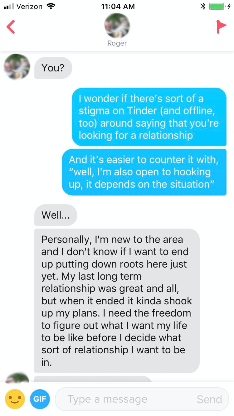 Does hookup mean you are in a relationship