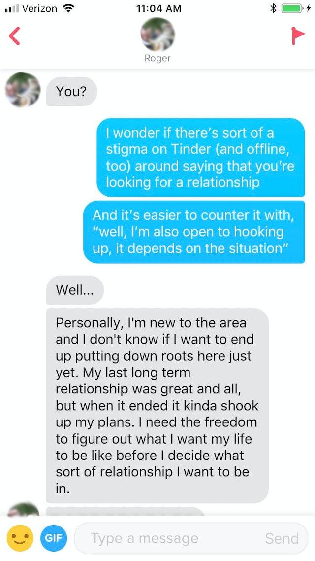 Tinder hookup to relationship