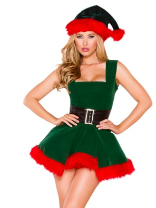 Sexy elf halloween costume