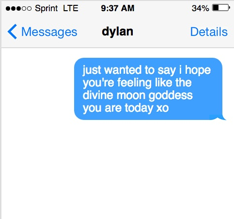 Cute texts to send someone youre dating