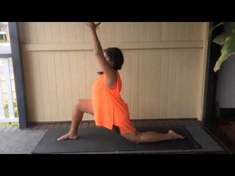 8 yoga poses for the full moon that'll help you harness