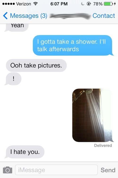 Sexting hookup