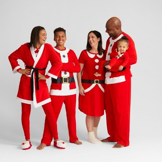 1e4c7c8835 7 Naughty   Nice Christmas Pajamas To Wear With Your Person This Season
