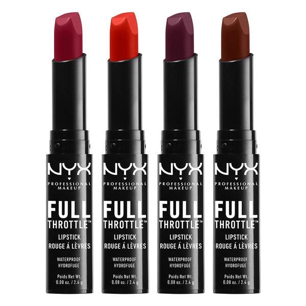 2. NYX Cosmetics Full Throttle Lipstick