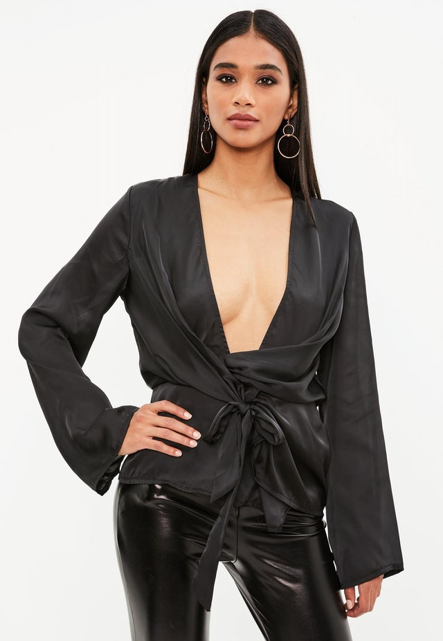 """missguided's """"going out tops to wear with jeans"""" section"""
