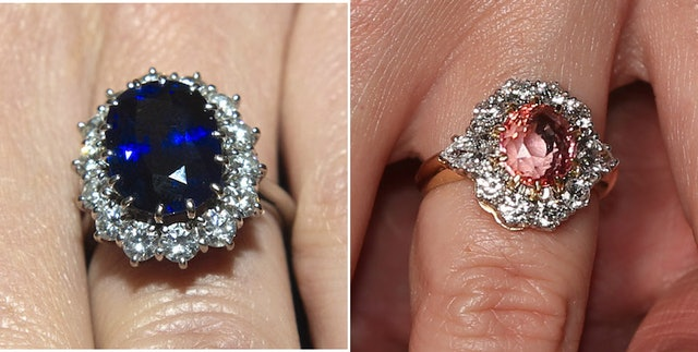 princess eugenies engagement ring vs kate middletons