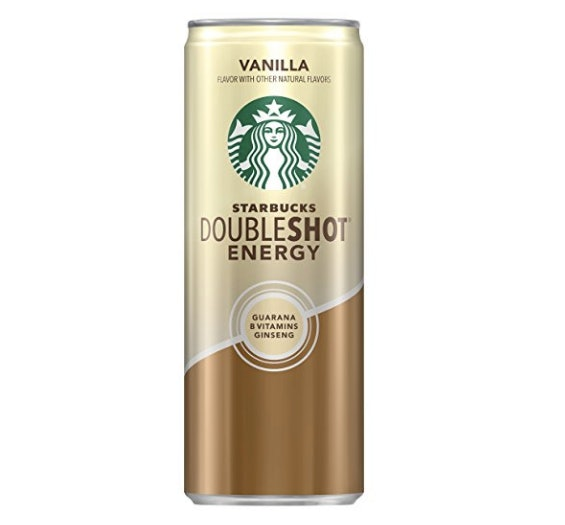 Starbucks double shot energy is one of the most caffeinated drinks from Starbucks.