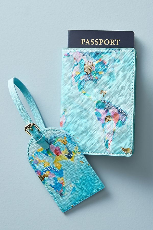 Palm Tree Passport Cover Made in the USA