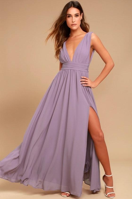 Lilac Dress for Wedding