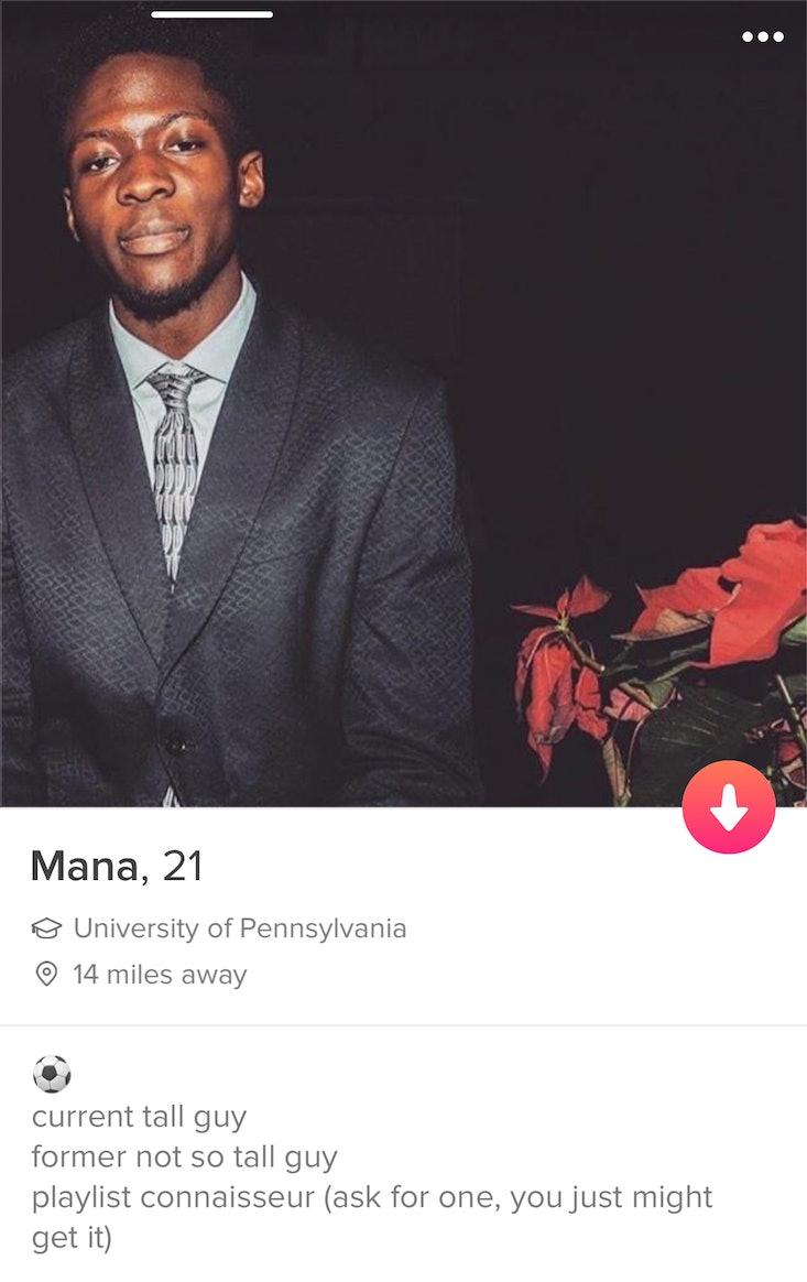 Best profile description for tinder dating