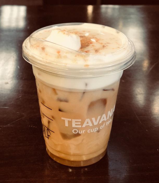 Starbucks' Iced Maple Pecan Latte With Cold Foam Tastes
