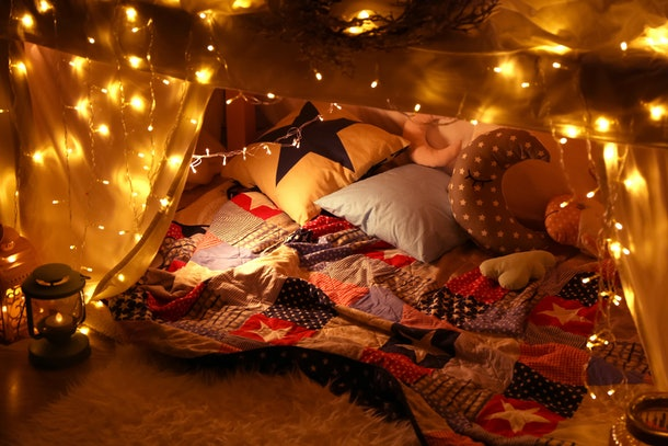 Pillow Fort Movie Night