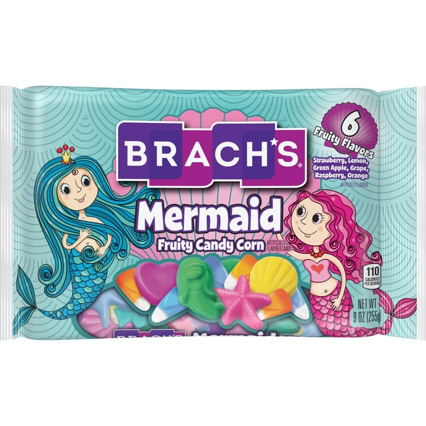 Braach's has new candy corn flavors for 2019, like Mermaid Candy Corn.