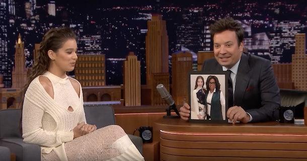 Hailee Steinfeld tells Jimmy Fallon a story about Sophie Turner and Joe Jonas
