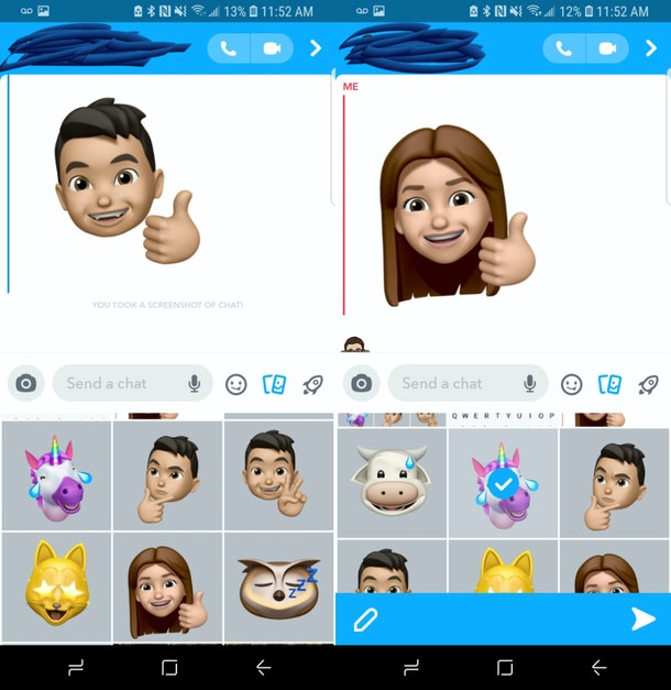 How to use Memojis in snapchat with your iOS 13 or your Android phone.